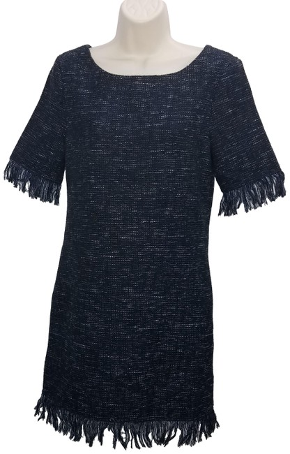 Preload https://img-static.tradesy.com/item/24313548/cupcakes-and-cashmere-black-textured-mid-length-short-casual-dress-size-2-xs-0-3-650-650.jpg