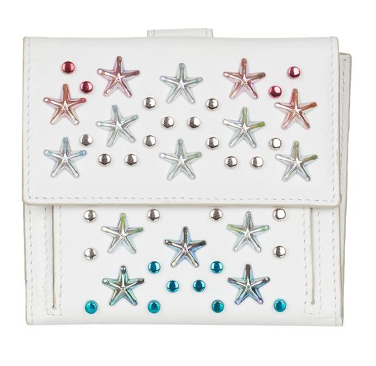 Preload https://img-static.tradesy.com/item/24313611/jimmy-choo-white-women-s-leather-frida-stars-bi-fold-wallet-0-0-540-540.jpg