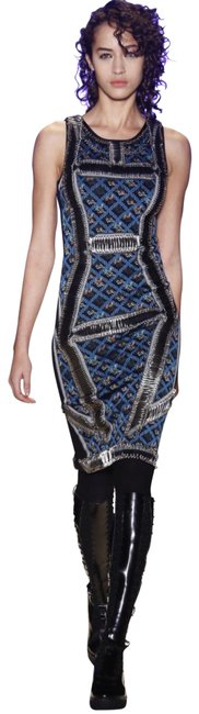 Preload https://img-static.tradesy.com/item/24313653/herve-leger-tanya-safety-pin-detail-jacquard-jade-bodycon-mid-length-cocktail-dress-size-4-s-0-2-650-650.jpg