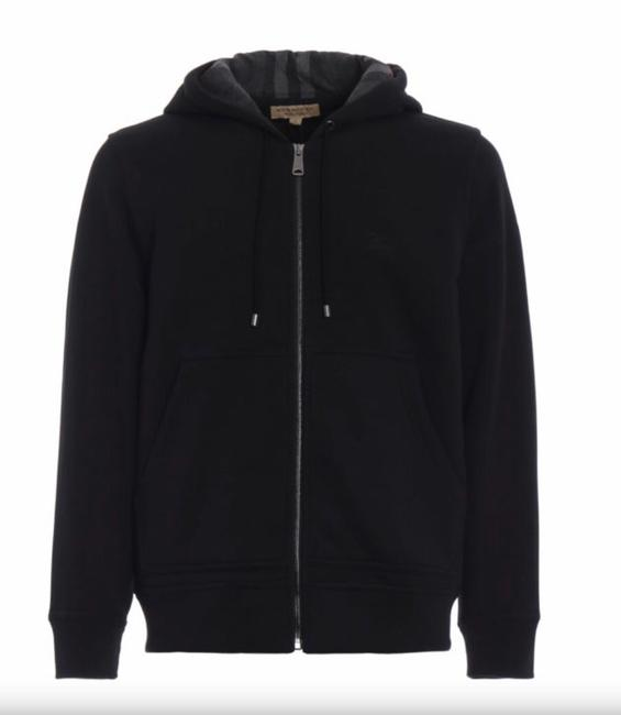 Preload https://img-static.tradesy.com/item/24313670/burberry-black-men-s-fordson-zipped-hoodie-jacket-size-2-xs-0-1-650-650.jpg