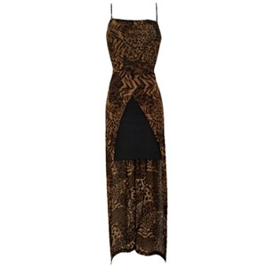 Vintage Retro Leopard Cheetah Y2k Dress