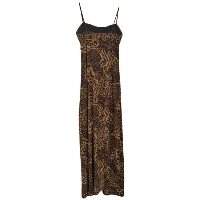 Vintage Retro Leopard Cheetah Y2k Dress Image 3