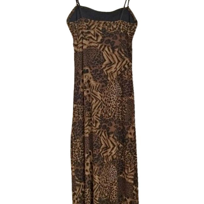Vintage Retro Leopard Cheetah Y2k Dress Image 4