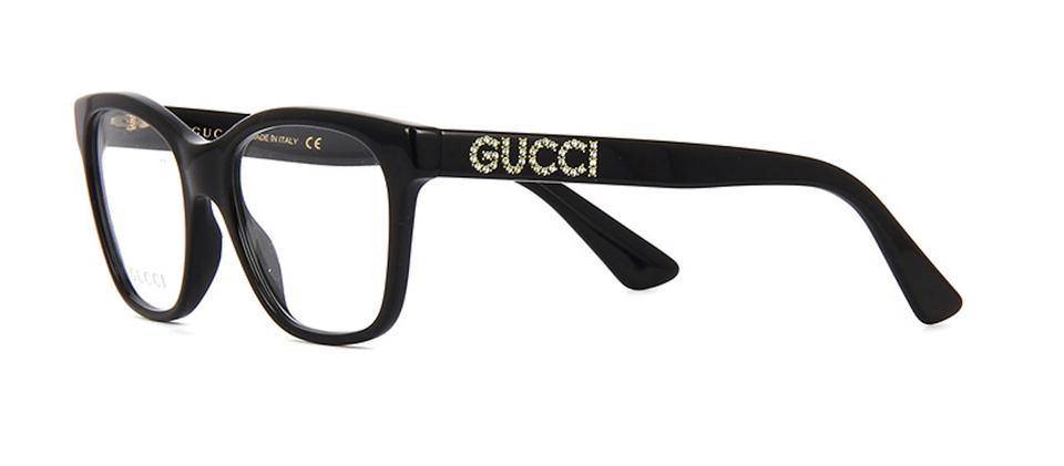d8c4940dbf4 Gucci with Crystals GG0420O 001 -FREE and FAST SHIPPING -Optical Eye Glasses  Image 0 ...