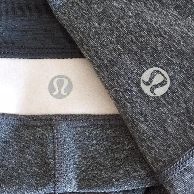 Lululemon Lululemon gray reversible Pants Image 6