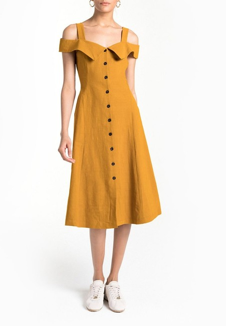 YELLOW Maxi Dress by A.L.C. Image 1