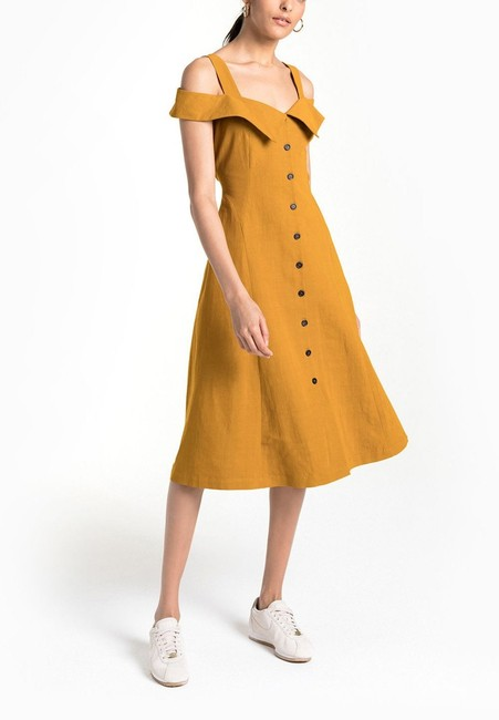 YELLOW Maxi Dress by A.L.C. Image 2