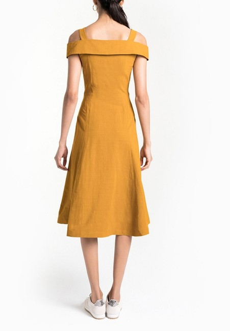 YELLOW Maxi Dress by A.L.C. Image 3