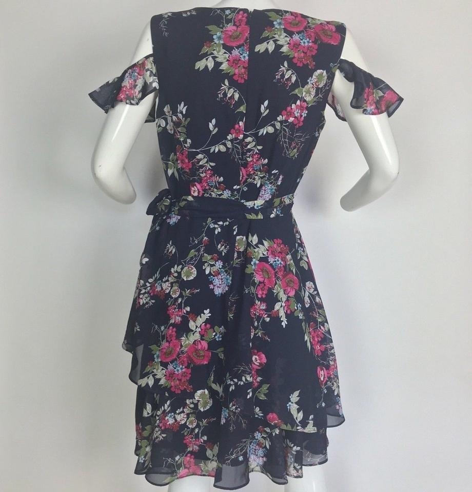 fc504635c5b18 Tahari Multi-color Arthur S Levine Floral Cocktail Dress Size 8 (M) -  Tradesy