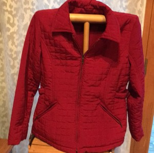 Geoffrey Beene red Jacket