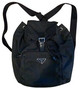 5556ff600c8102 Prada Single Pocket Black Nylon Backpack - Tradesy