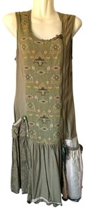 Desigual short dress Light Green on Tradesy