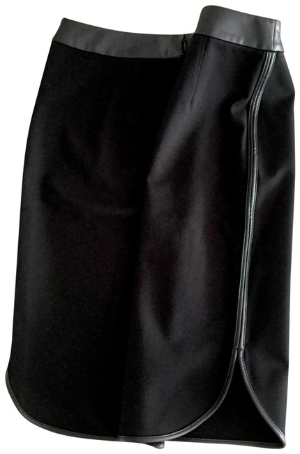 Preload https://img-static.tradesy.com/item/24314415/ann-taylor-loft-black-scalloped-pencil-with-leather-piping-skirt-size-4-s-27-0-2-650-650.jpg