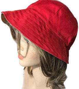 Burberry Burberry Reversible Red Hat