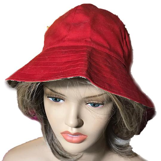 Burberry Burberry Reversible Red Hat Image 2