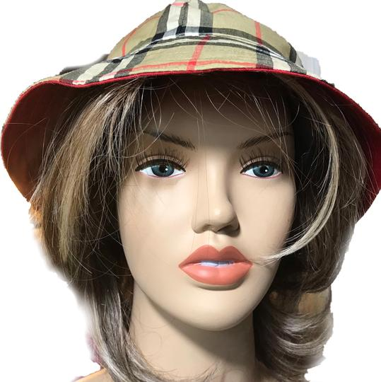 Burberry Burberry Reversible Red Hat Image 3