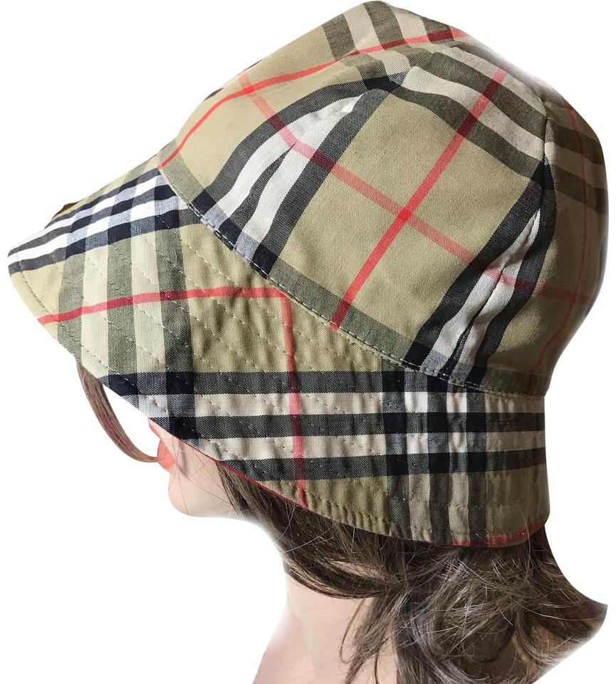 a74080e450318 Burberry Burberry Large Nova Check Hat Image 0 ...