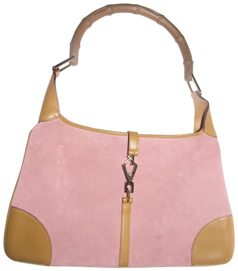 Preload https://img-static.tradesy.com/item/24314532/gucci-jackie-vintage-pursesdesigner-purses-pink-suede-and-camel-leather-with-a-bamboo-handle-hobo-ba-0-3-540-540.jpg