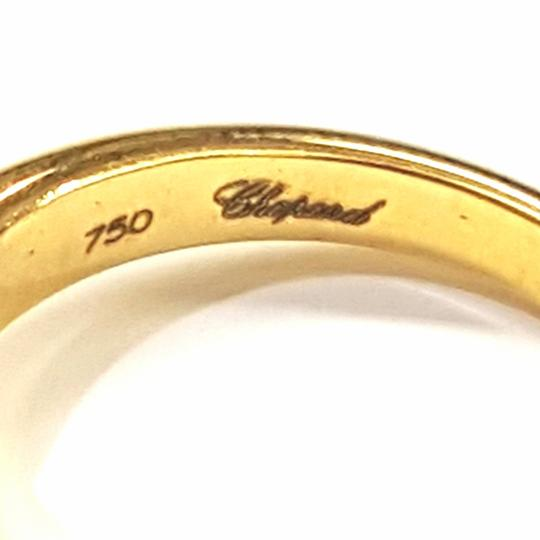 Chopard GORGEOUS!! 18k Yellow Gold Chopard Happy Heart Ring with Floating Diamond Like new!! Size: 6.25 Comes with two original Chopard boxes! Image 3