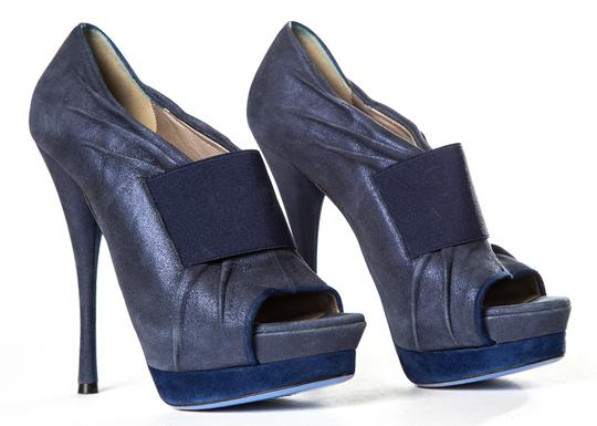 Versace Blue Pumps Image 2