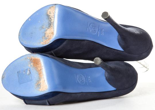 Versace Blue Pumps Image 8
