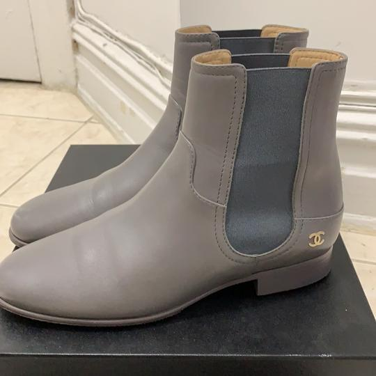 Chanel grey Boots Image 1