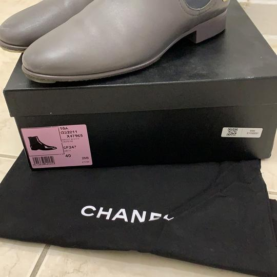 Chanel grey Boots Image 4