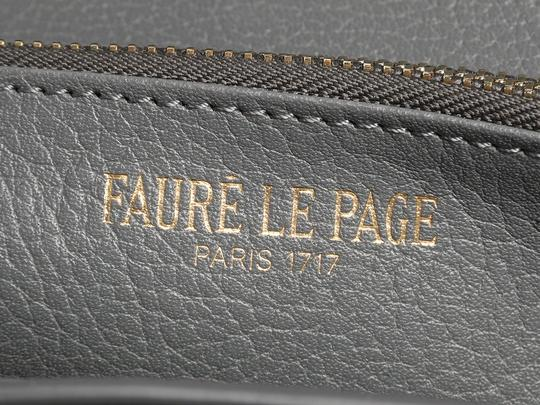 Fauré Le Page **SOLD ON AFC**GRAY RABAT CHAIN WOC WALLET Image 8