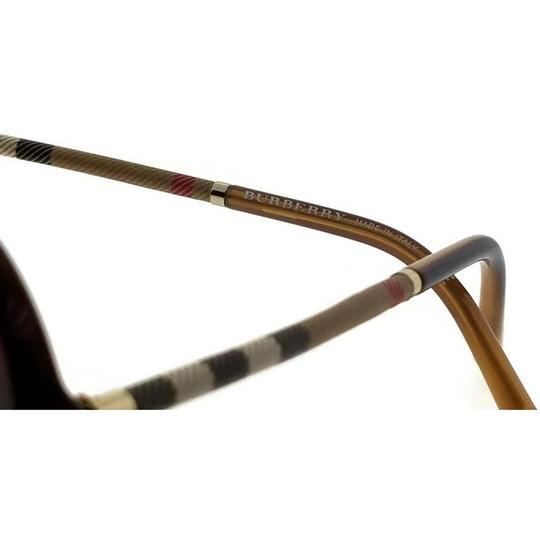 Burberry BE4239Q-336913 Round Women's Brown Frame Brown Lens Sunglasses Image 3