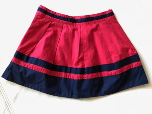 Rouge/Marine Junior Girls Rouge/Marine Skirt Cotton Size 2a Other