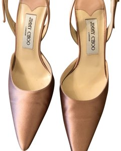 Jimmy Choo muted pink Pumps