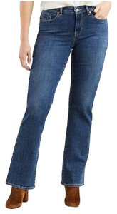 Levi's 501 Relaxed Prewash Boot Cut Jeans-Medium Wash