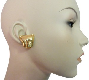 Other MMA NY Museum Clip Earrings Ancient Cat Leopard Jaguar Head