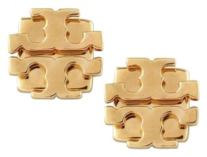 Tory Burch small t logo stud earrings