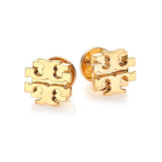 Tory Burch small t logo stud earrings Image 1
