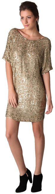 Vince Sequin Beaded Dress Image 0