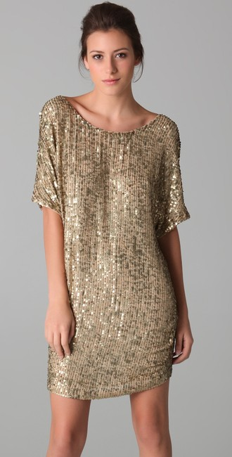 Vince Sequin Beaded Dress Image 1