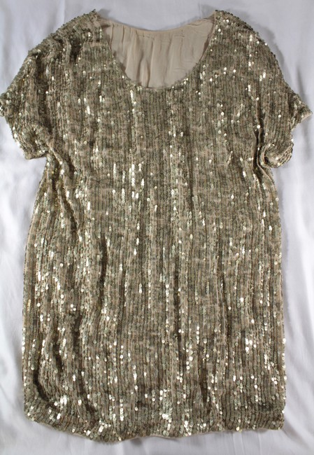 Vince Sequin Beaded Dress Image 11
