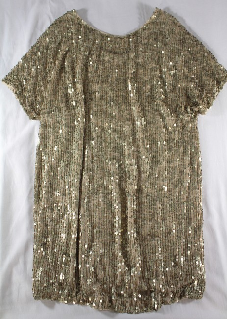 Vince Sequin Beaded Dress Image 3