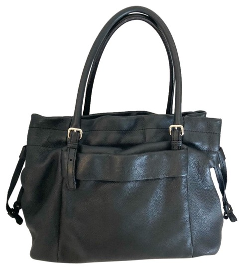 Preload https://img-static.tradesy.com/item/24315126/kate-spade-drawstring-and-shoulder-black-pebbled-leather-tote-0-1-540-540.jpg