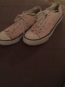 2226d42678ef9f Pink Converse Sneakers - Up to 90% off at Tradesy