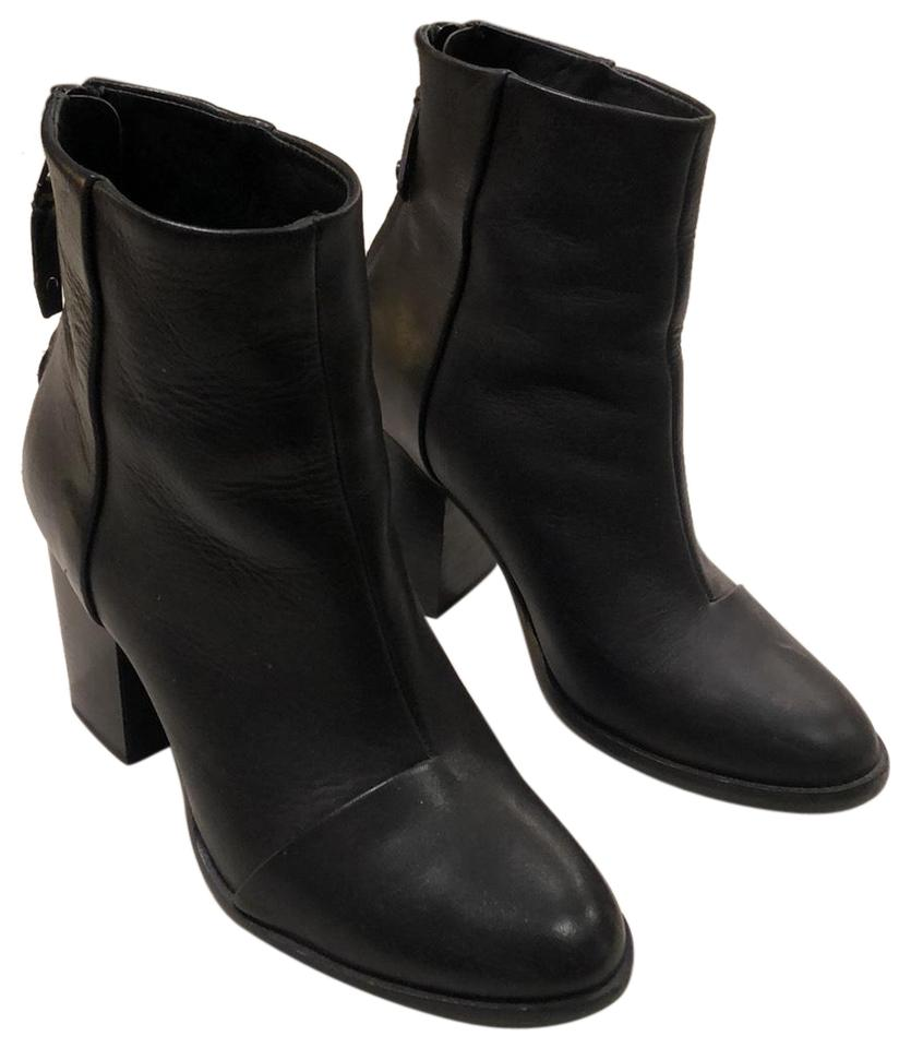 0741f3c04e2 Rag & Bone Black Leather Ashby Ankle Boots/Booties Size EU 37 (Approx. US  7) Regular (M, B) 47% off retail