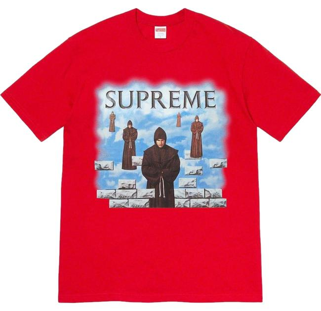 Supreme T Shirt red Image 0