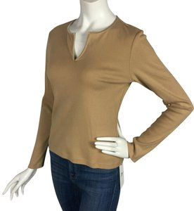 Ann Taylor T Shirt Tan