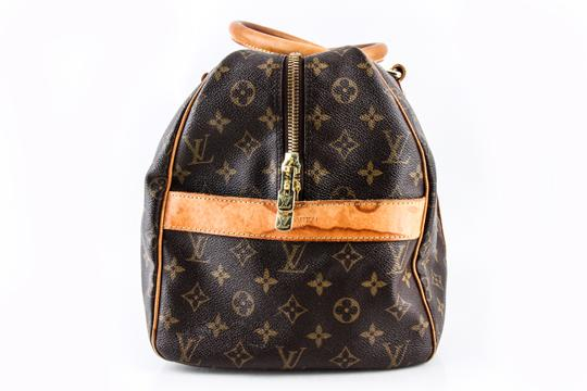 Louis Vuitton Leather Brown Travel Bag Image 2