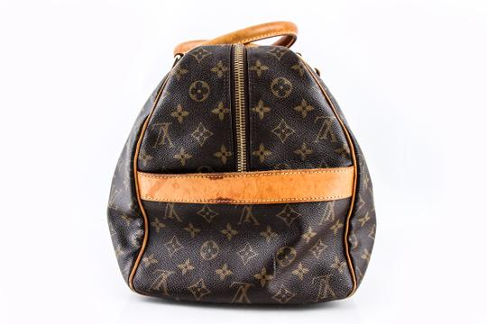 Louis Vuitton Leather Brown Travel Bag Image 3