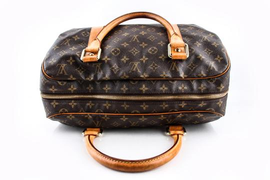 Louis Vuitton Leather Brown Travel Bag Image 5