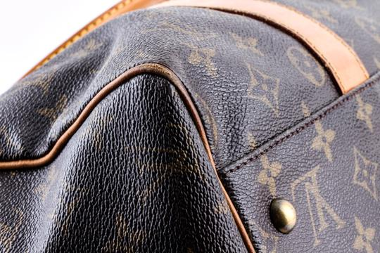Louis Vuitton Leather Brown Travel Bag Image 8