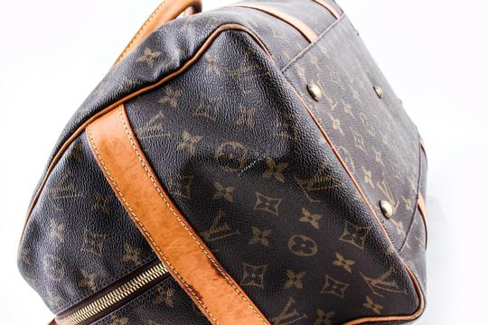 Louis Vuitton Leather Brown Travel Bag Image 9