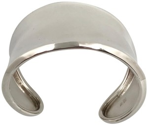 Robert Lee Morris RARE. Unisex. MADE IN THE USA Classic Wide Sterling Silver Cuff